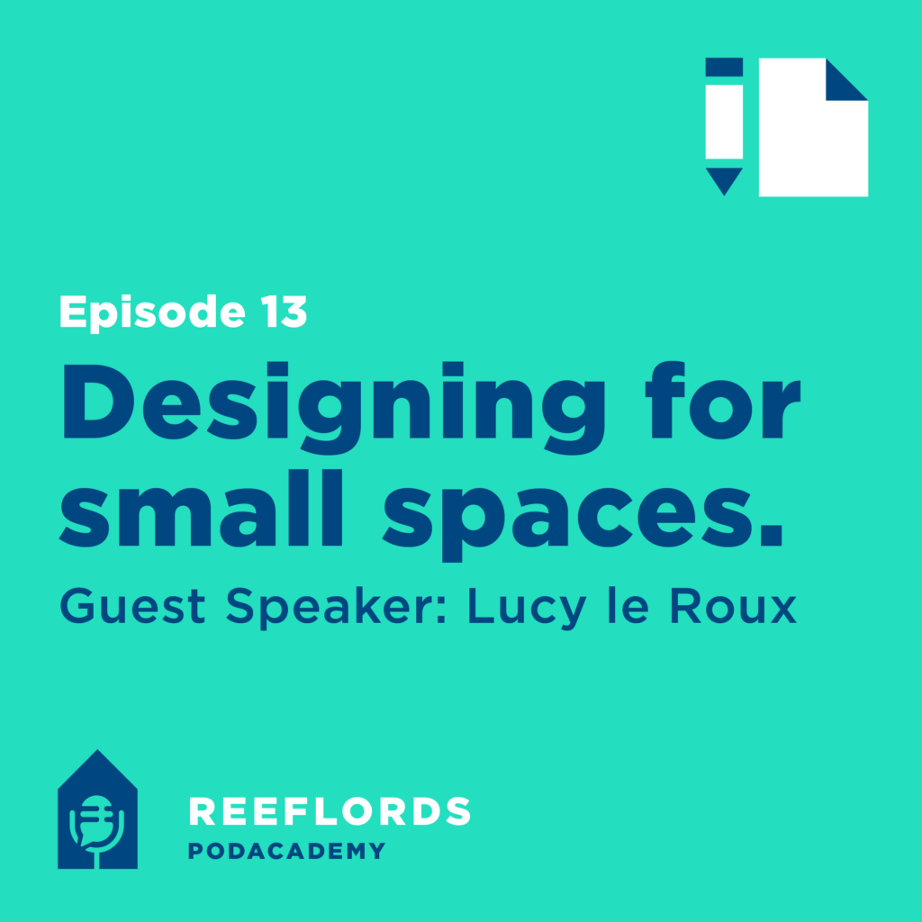 Podcast designing for small spaces